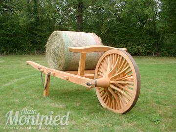 Fabriquer une roue en bois de brouette